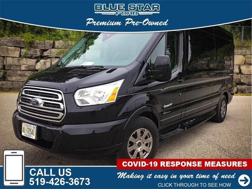 Used 2017 Ford Transit-Cargo-Van  B50708