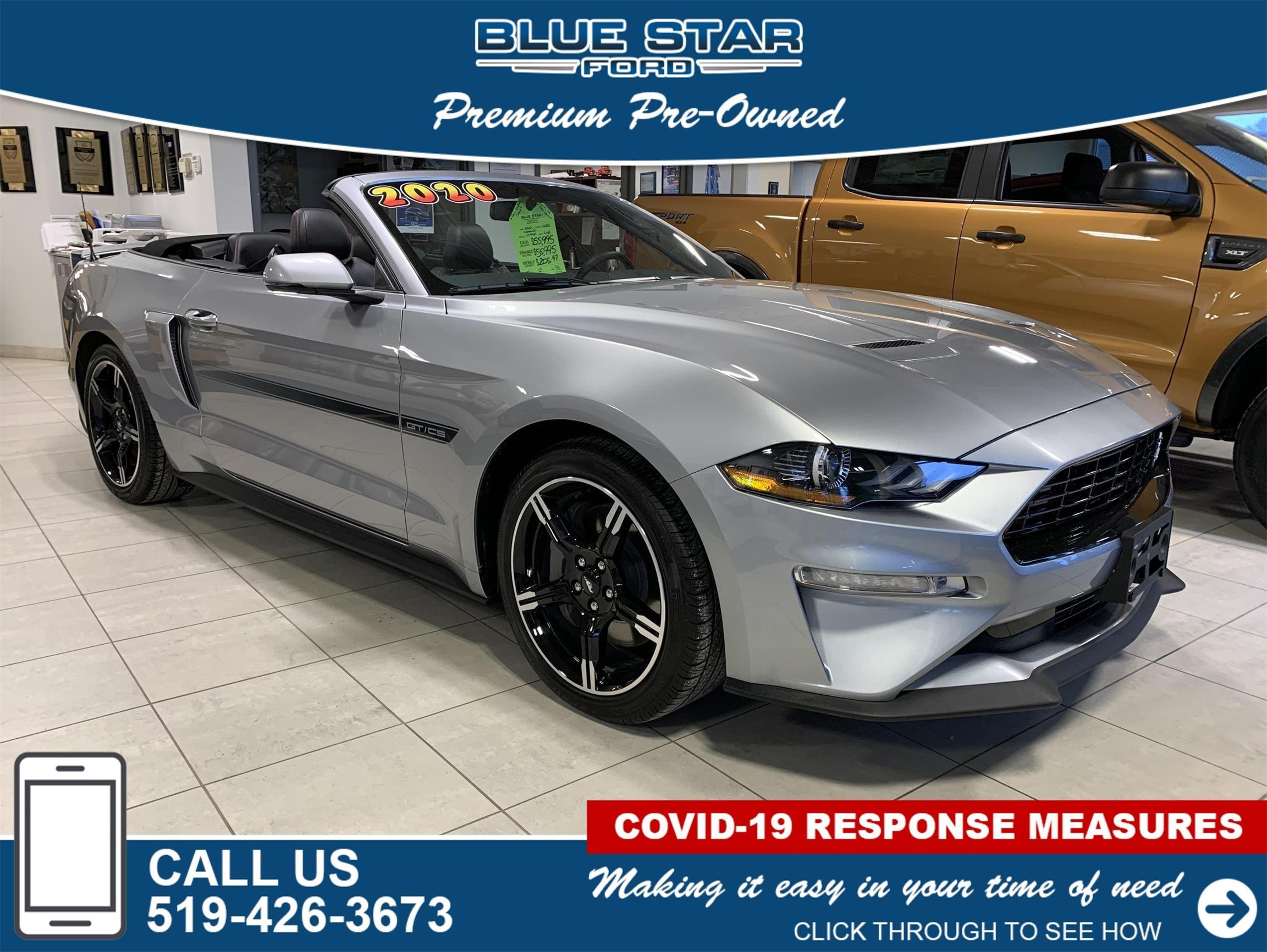 Used 2020 Ford Mustang GT-Premium 104683