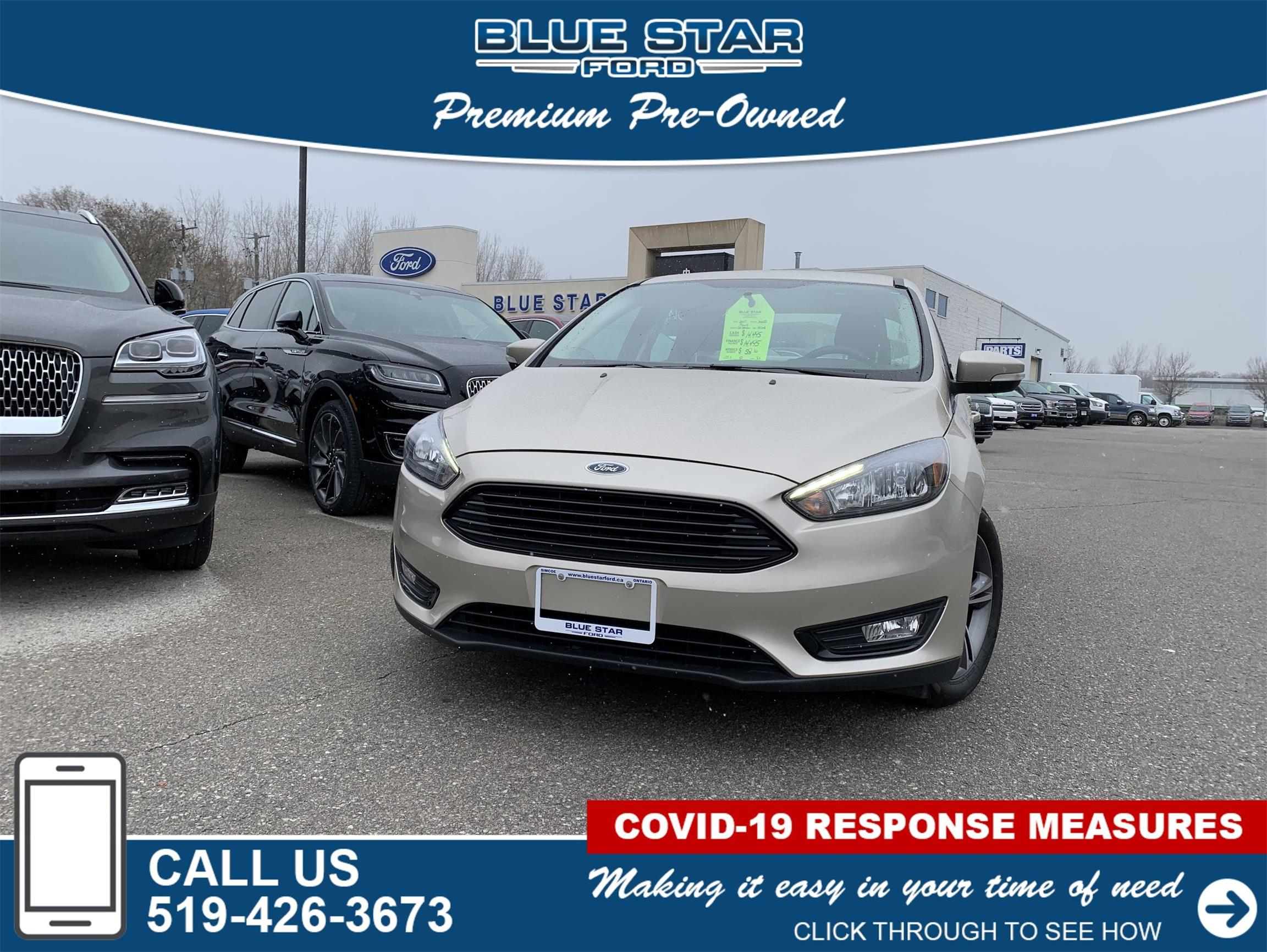 Used 2017 Ford Focus SE 305288