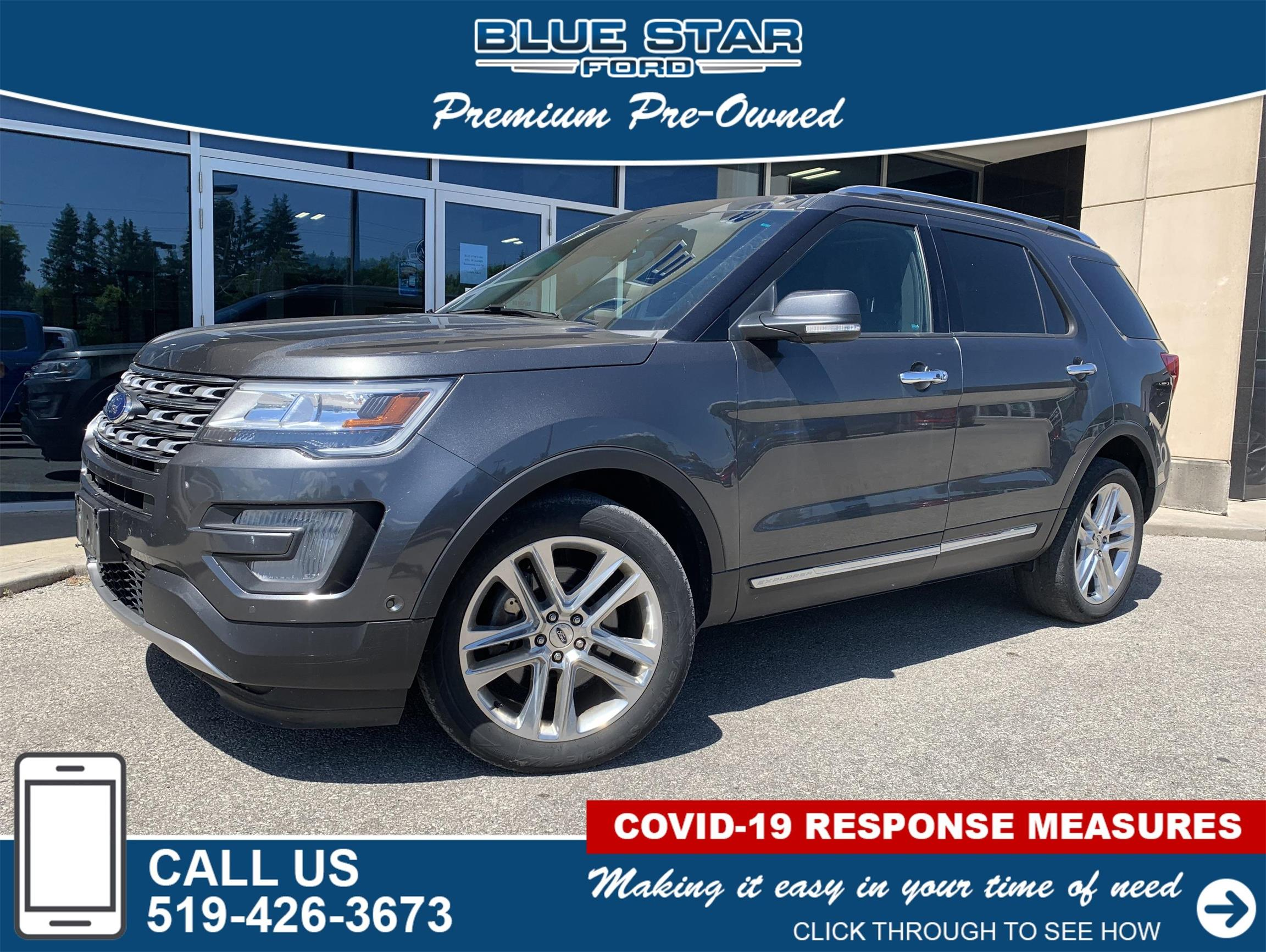 Used 2016 Ford Explorer Limited C43615