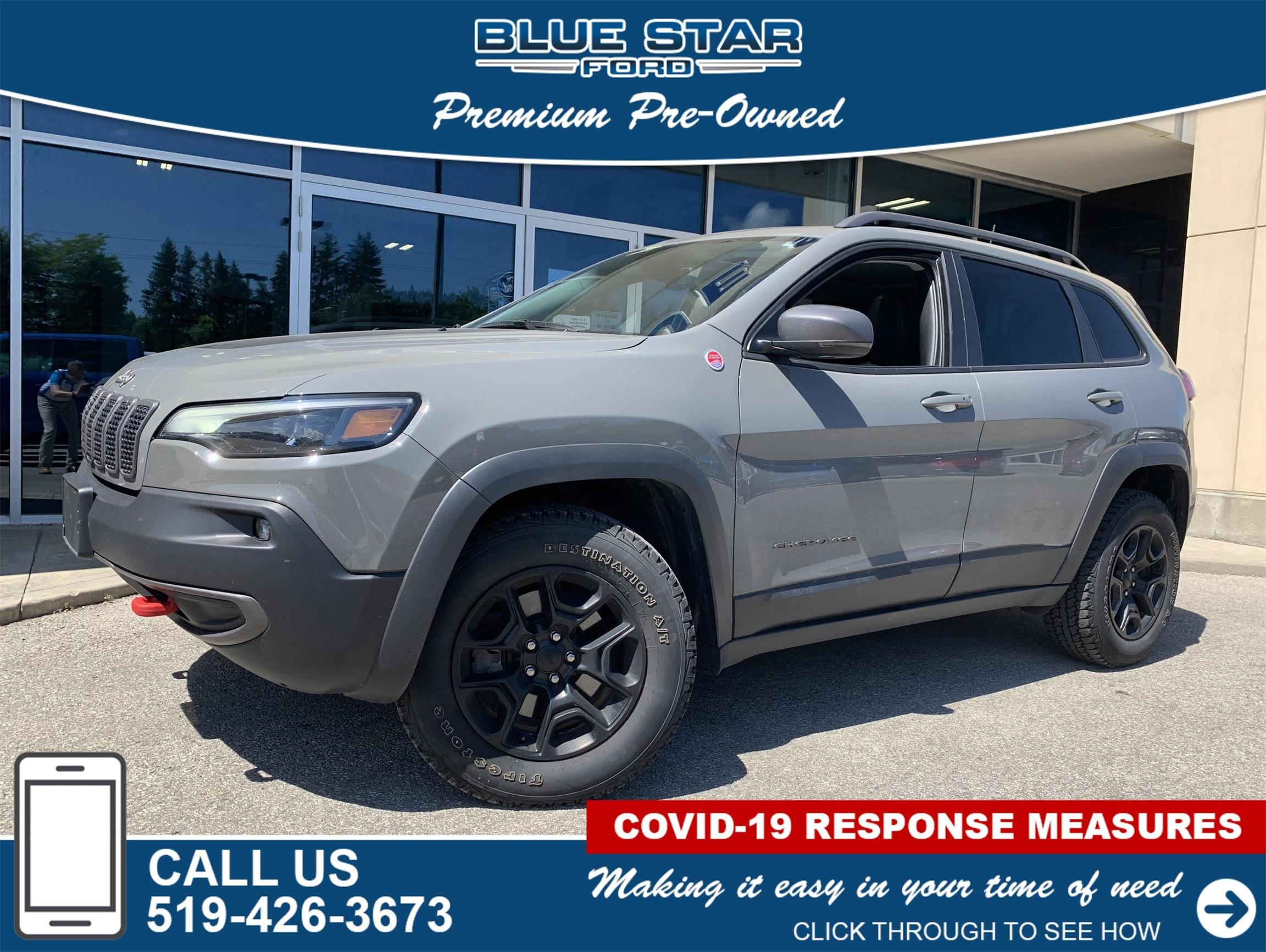 Used 2019 Jeep Cherokee Trailhawk-Elite 361302