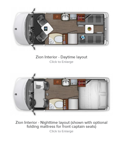 New 2021 Roadtrek Zion RV17197