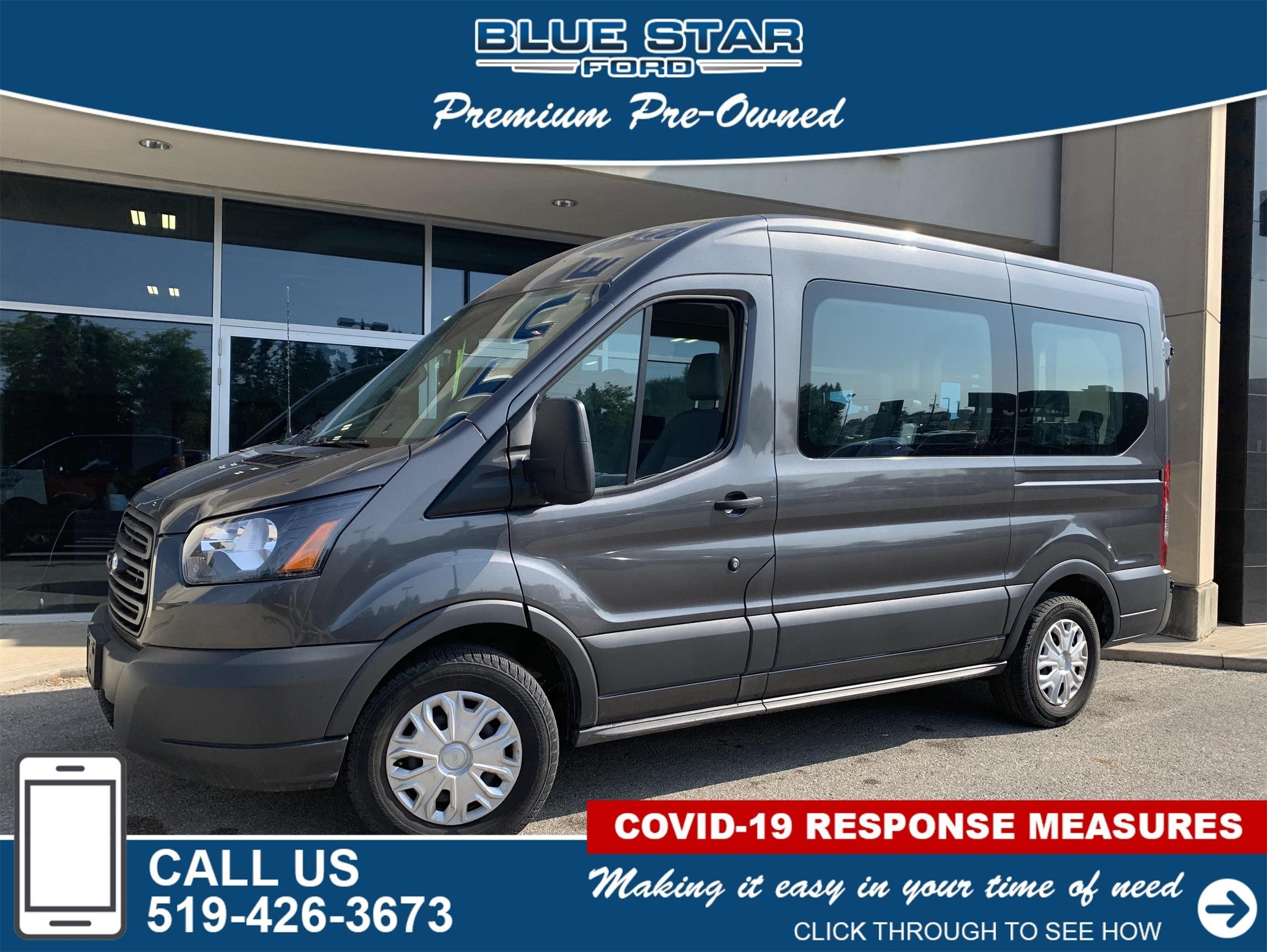 Used 2018 Ford Transit-Passenger-Wagon XL B12495