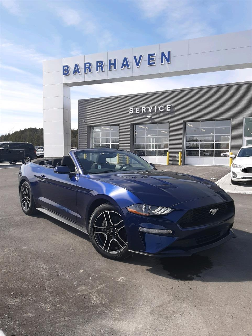 Used 2018 Ford Mustang EcoBoost M9116