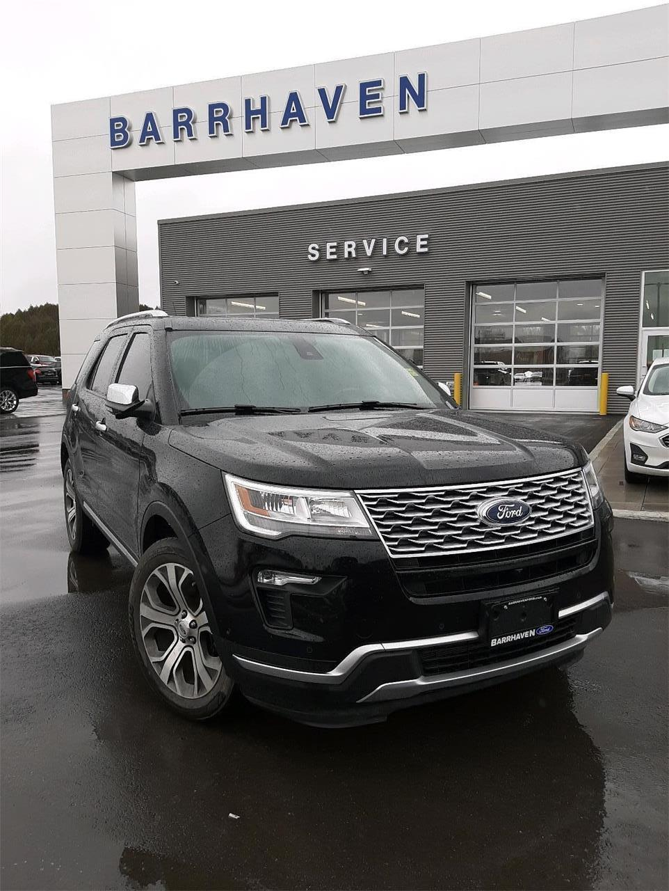 Used 2019 Ford Explorer Platinum 19-518A