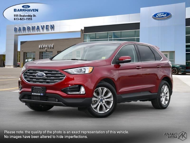 Used 2019 Ford Edge Titanium M9231