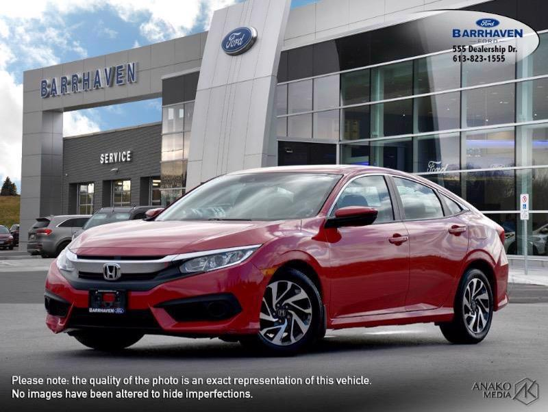 Used 2017 Honda Civic-Sedan EX M9318