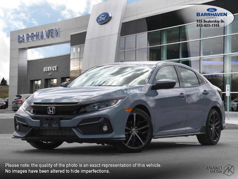 Used 2020 Honda Civic-Hatchback Sport M9388