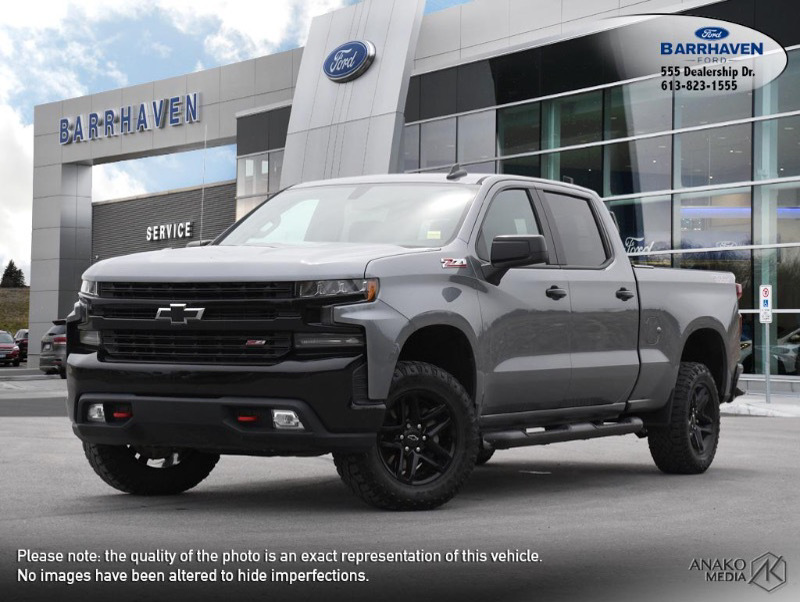Used 2020 CHEVROLET SILVERADO-1500 LT-TRAIL-BOSS 21-297B