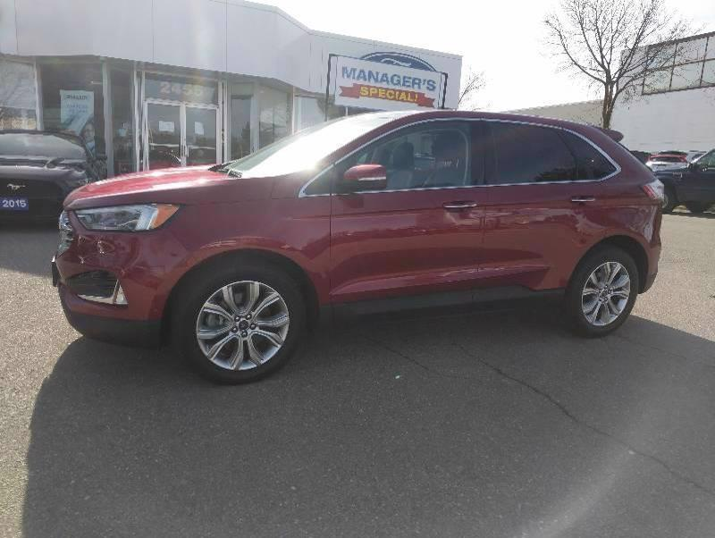 Used 2019 Ford Edge Titanium 10986