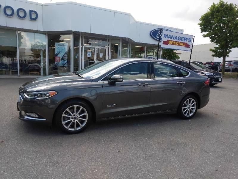 Used 2017 Ford Fusion Titanium 11124