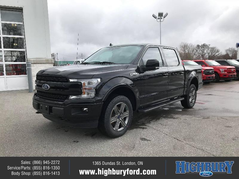 New 2020 Ford F-150 LARIAT FA58932