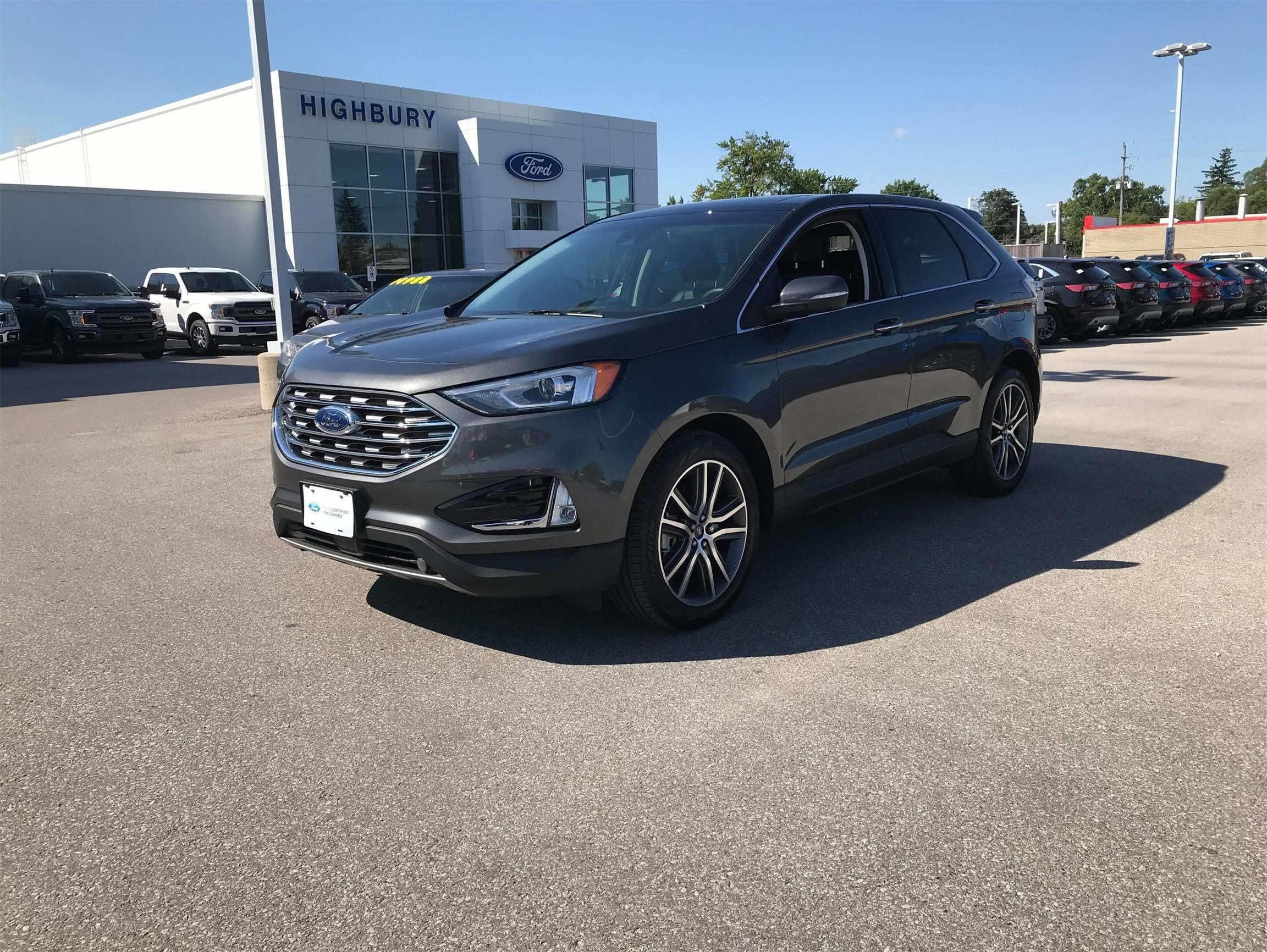 Used 2019 Ford Edge Titanium BC38985U