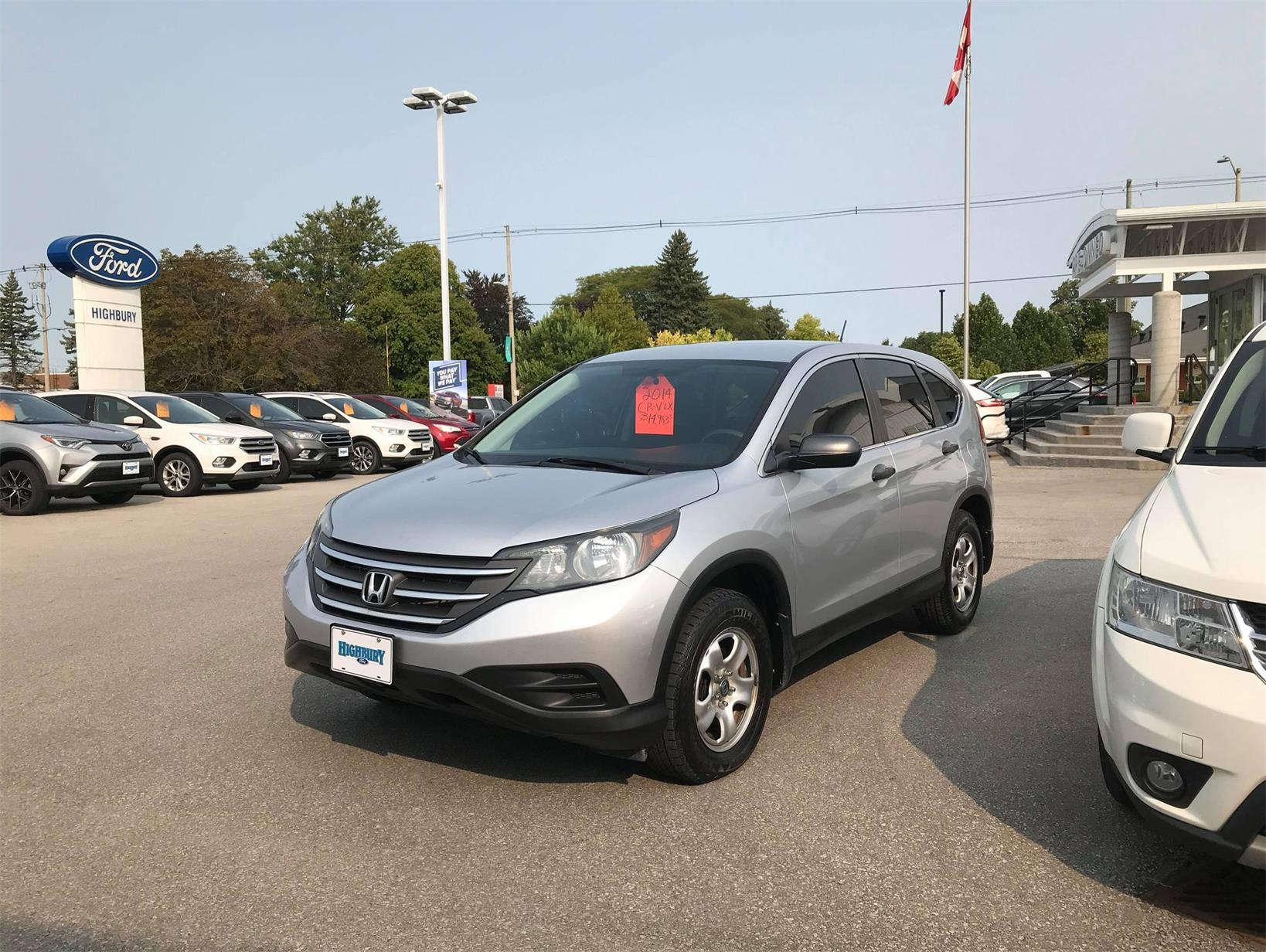 Used 2014 Honda CR-V LX H002995U