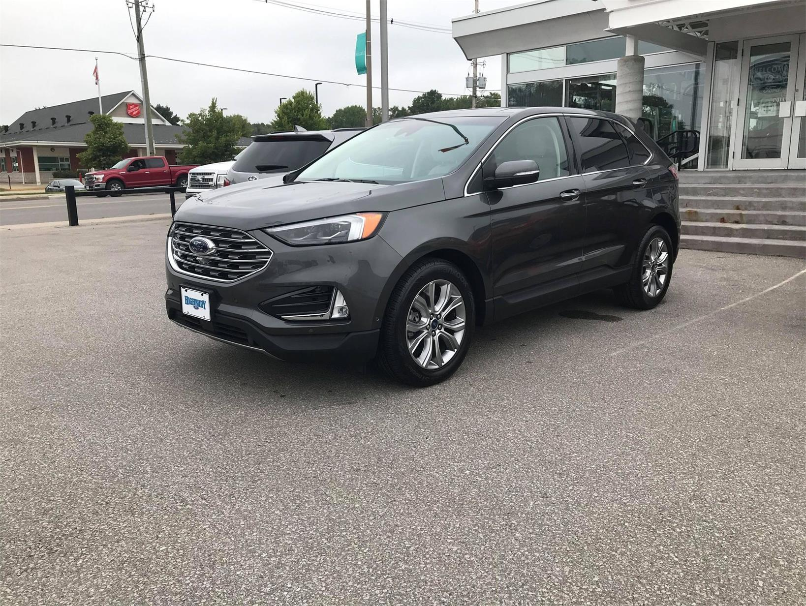 Used 2019 Ford Edge Titanium BC53233C