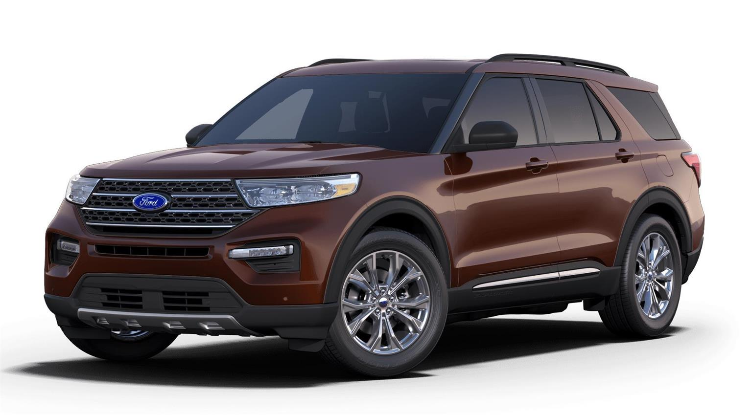 New 2020 Ford Explorer XLT EX53324