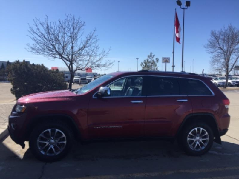 Used 2014 Jeep Grand-Cherokee Limited EP53732A