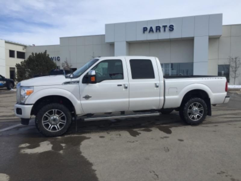 Used 2016 Ford Super-Duty-F-350-SRW Platinum PU53685