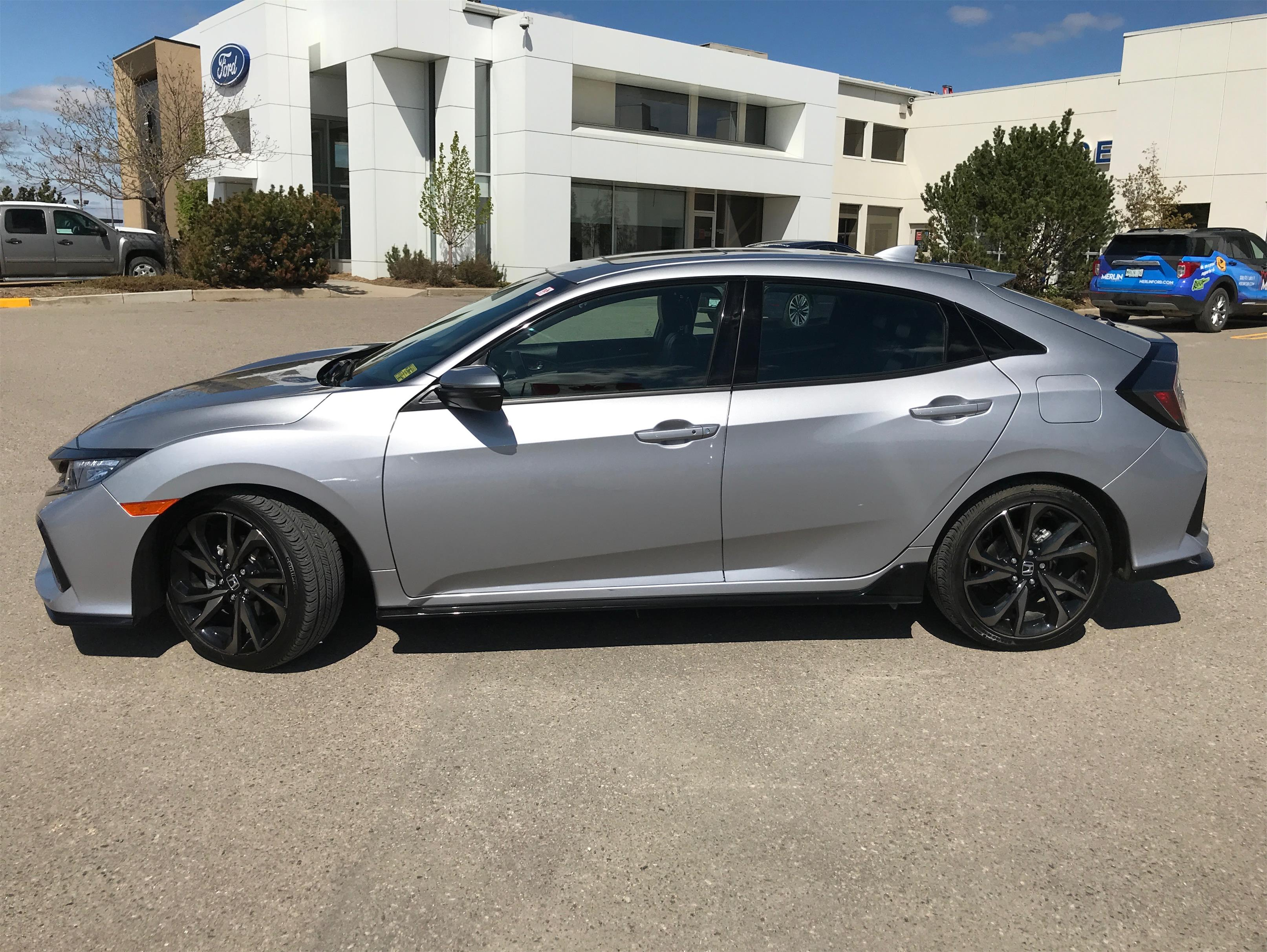 Used 2017 Honda Civic-Hatchback Sport-Touring CA53243A