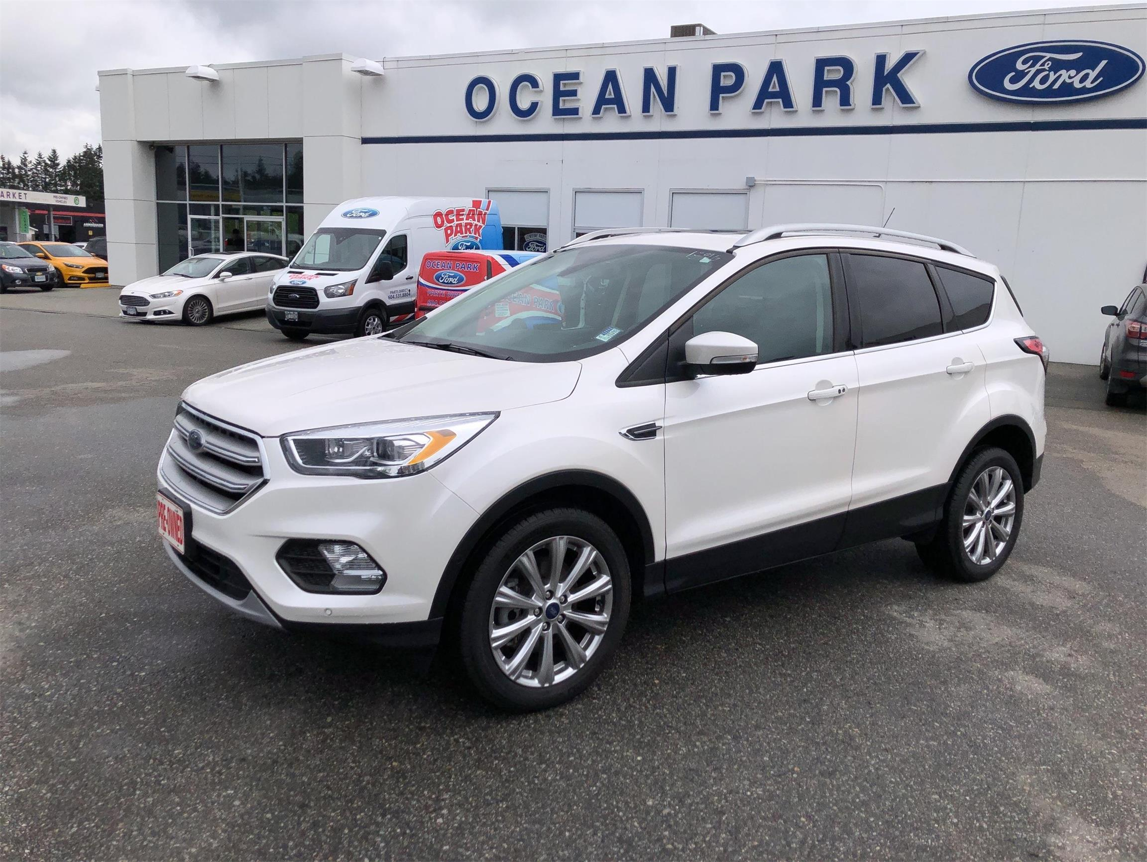 Used 2018 Ford Escape Titanium U8299