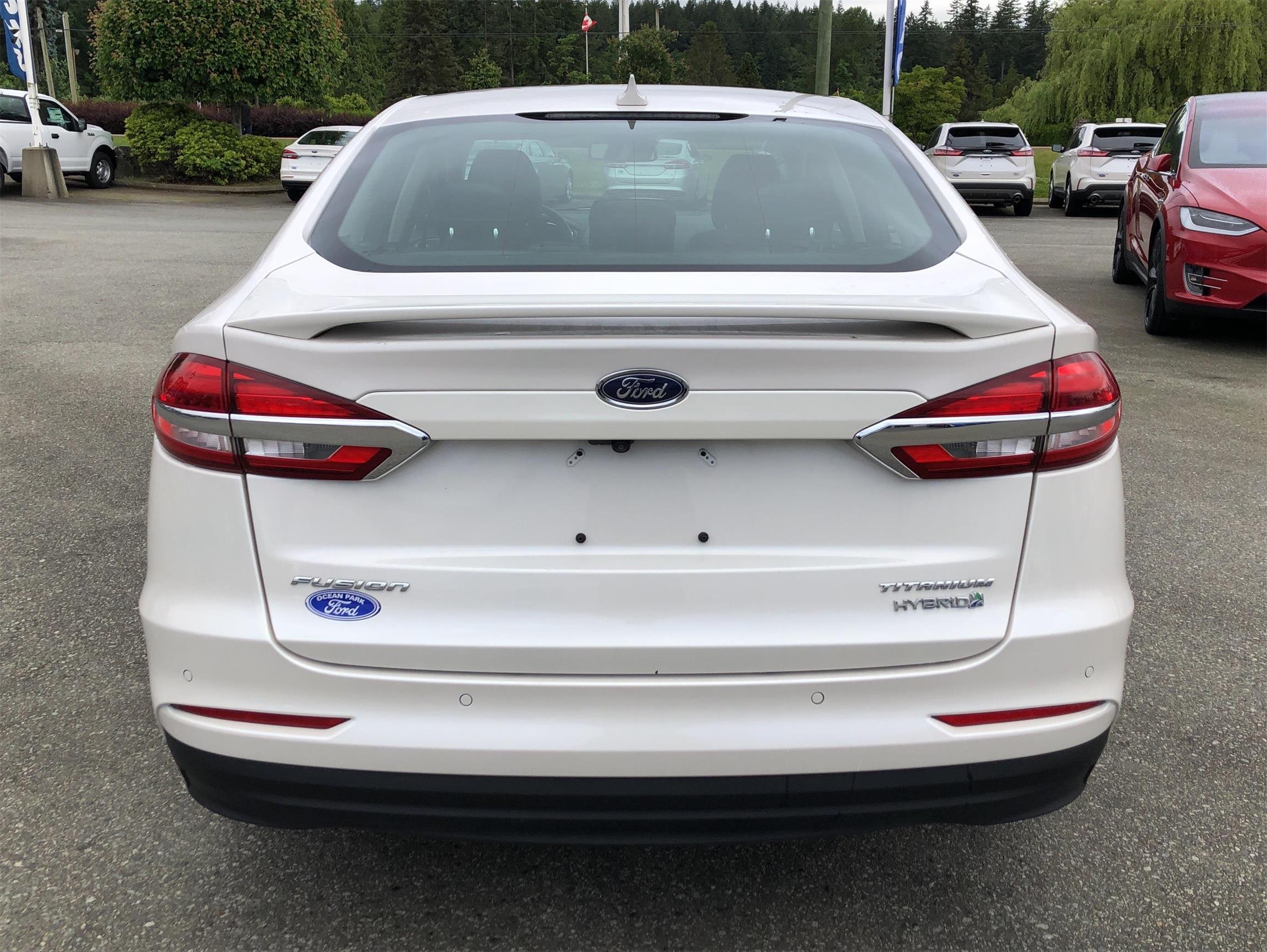 Used 2019 Ford Fusion-Hybrid Titanium U8967