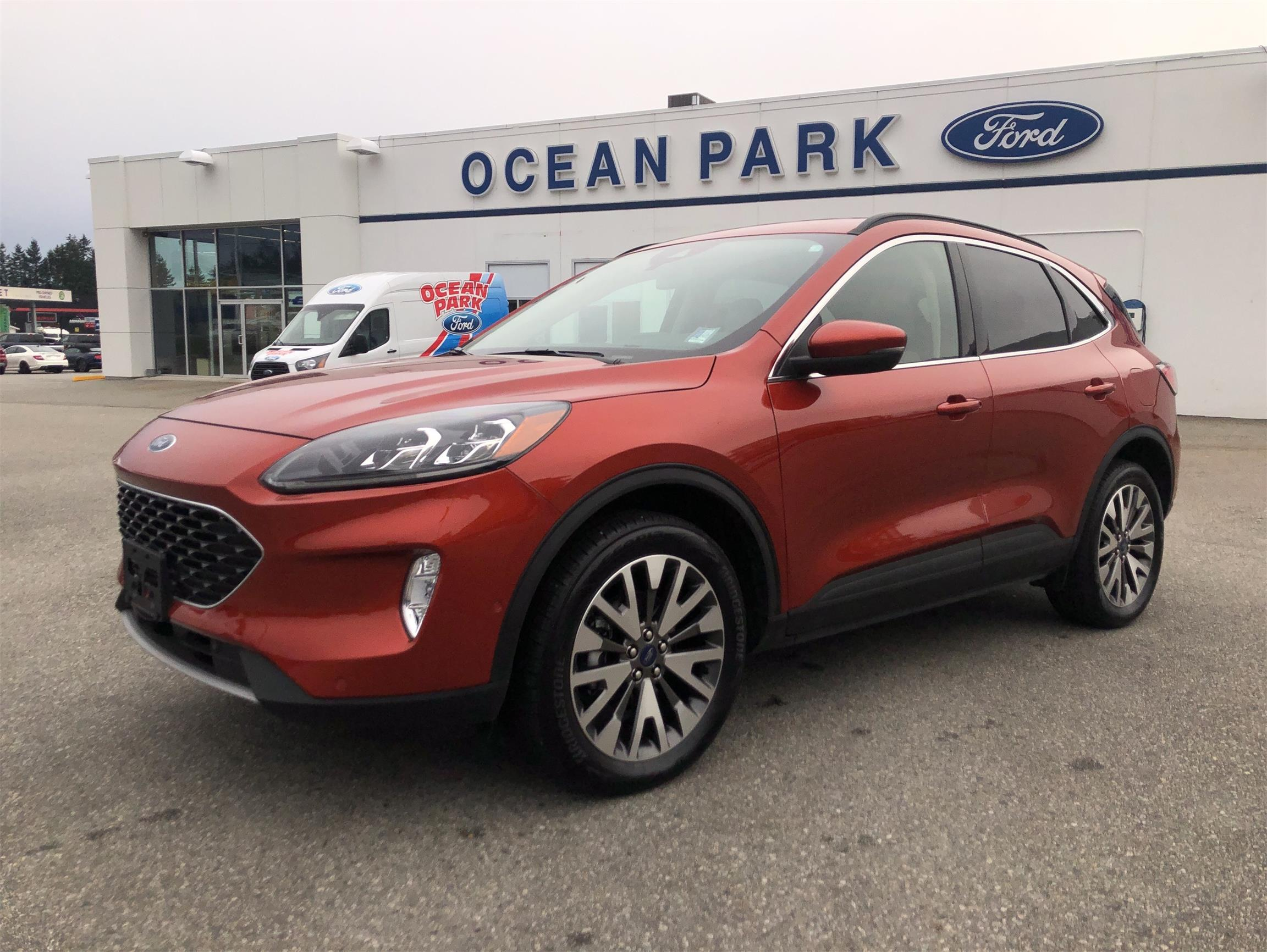 Used 2020 Ford Escape Titanium U9391
