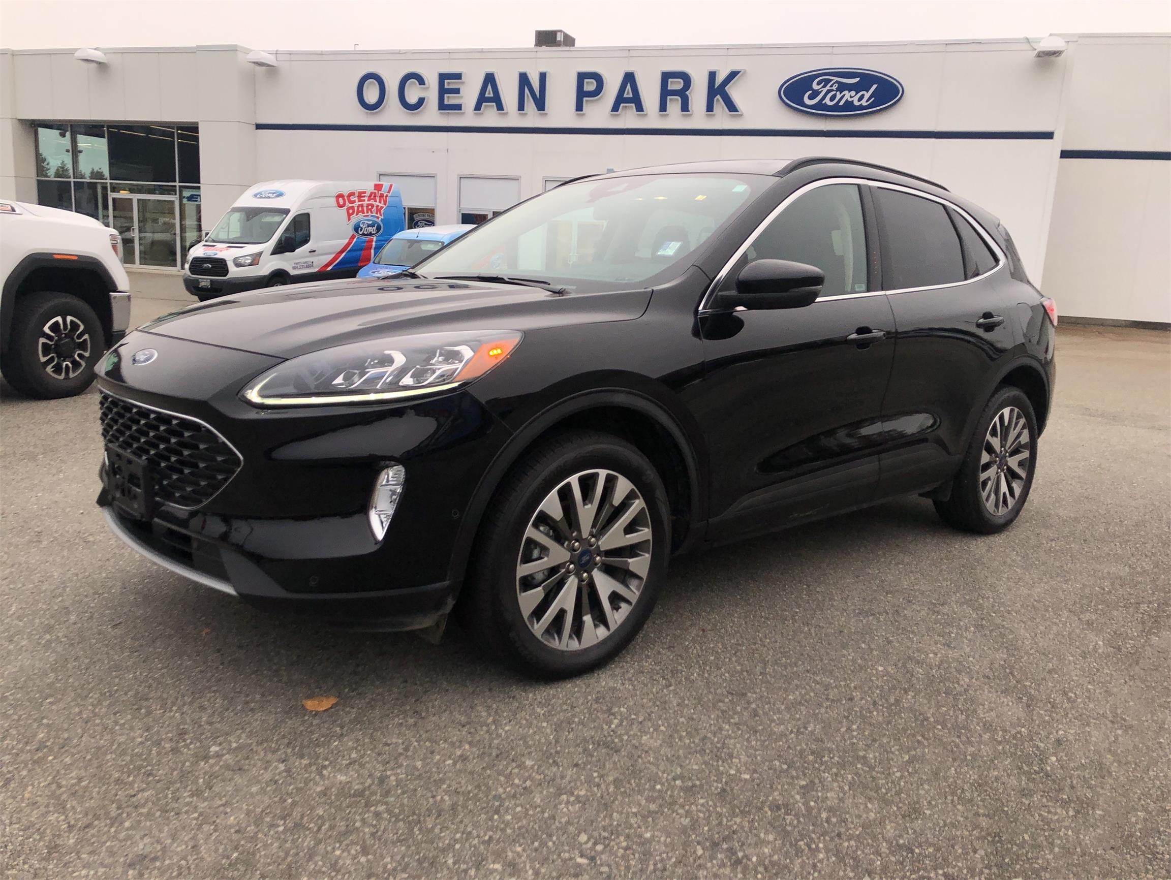 Used 2020 Ford Escape Titanium U9393