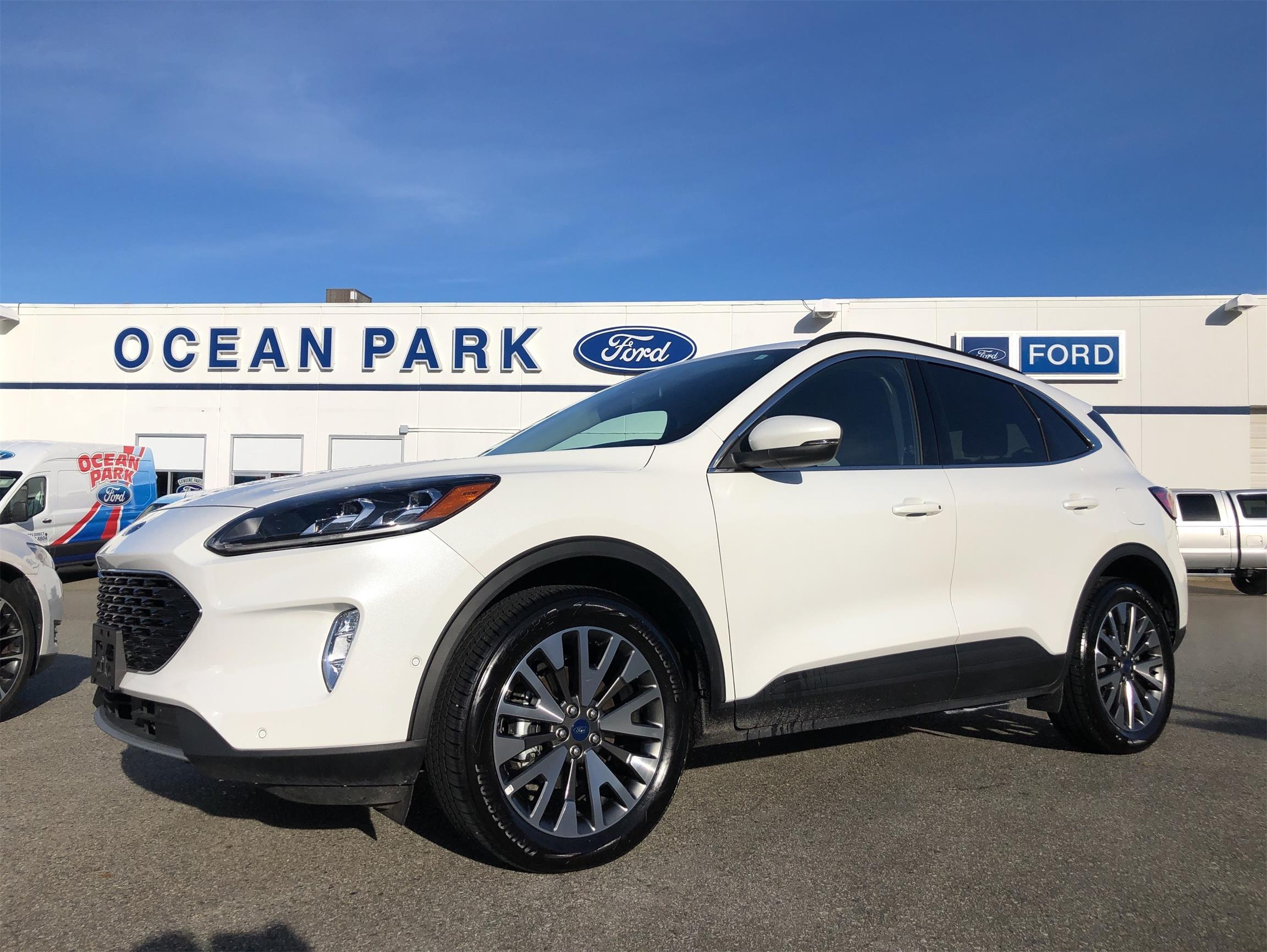 Used 2020 Ford Escape Titanium-Hybrid U9517