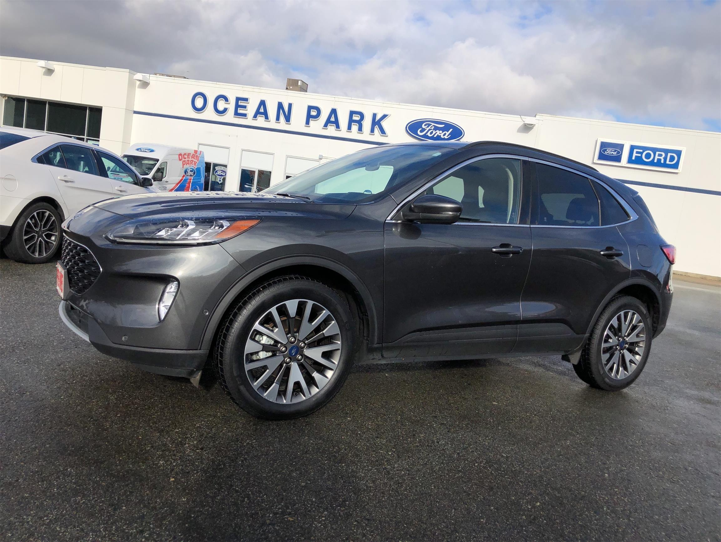 Used 2020 Ford Escape Titanium-Hybrid U9519