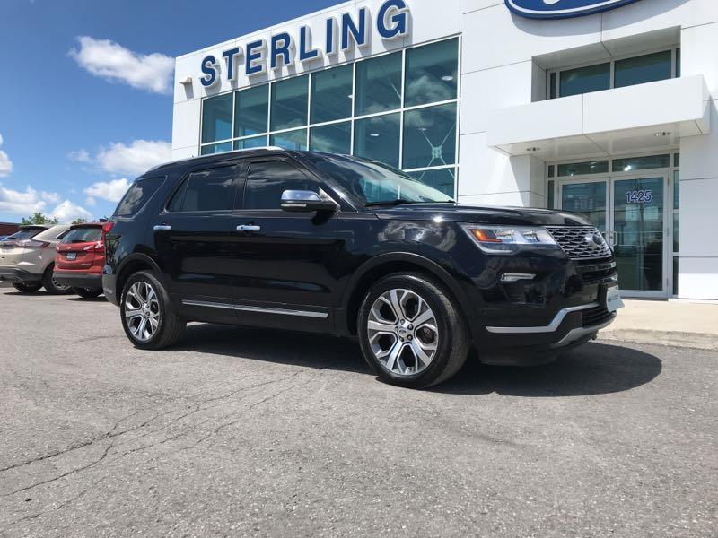 Used 2018 Ford Explorer Platinum 13080A
