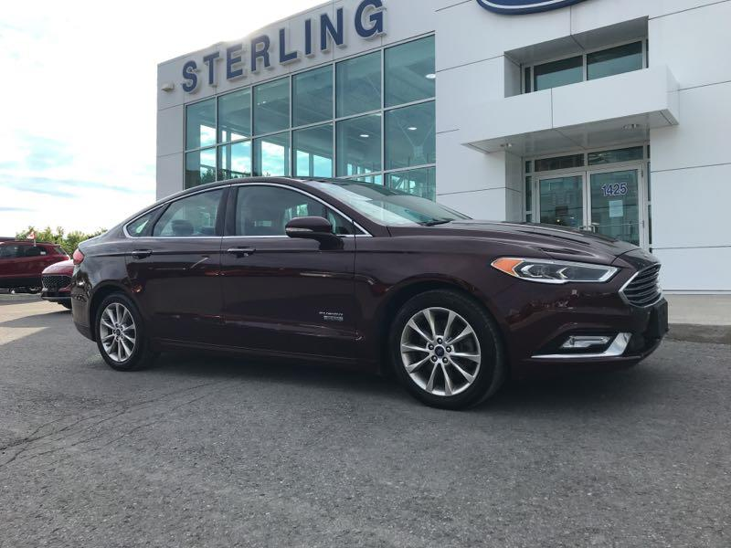 Used 2017 Ford Fusion-Energi SE-Luxury 13349A