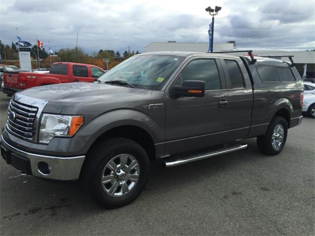 2011 Ford F-150 with canopy
