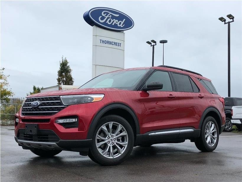 New 2020 Ford Explorer XLT W005