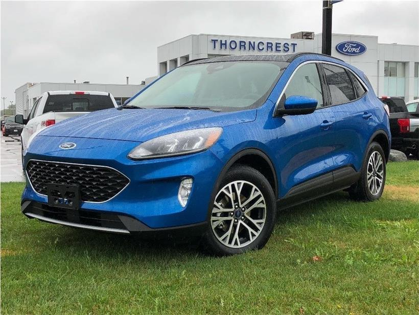 New 2020 Ford Escape SEL Q758
