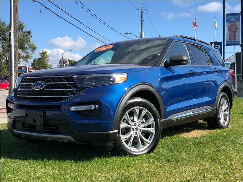 New 2020 Ford Explorer XLT W007