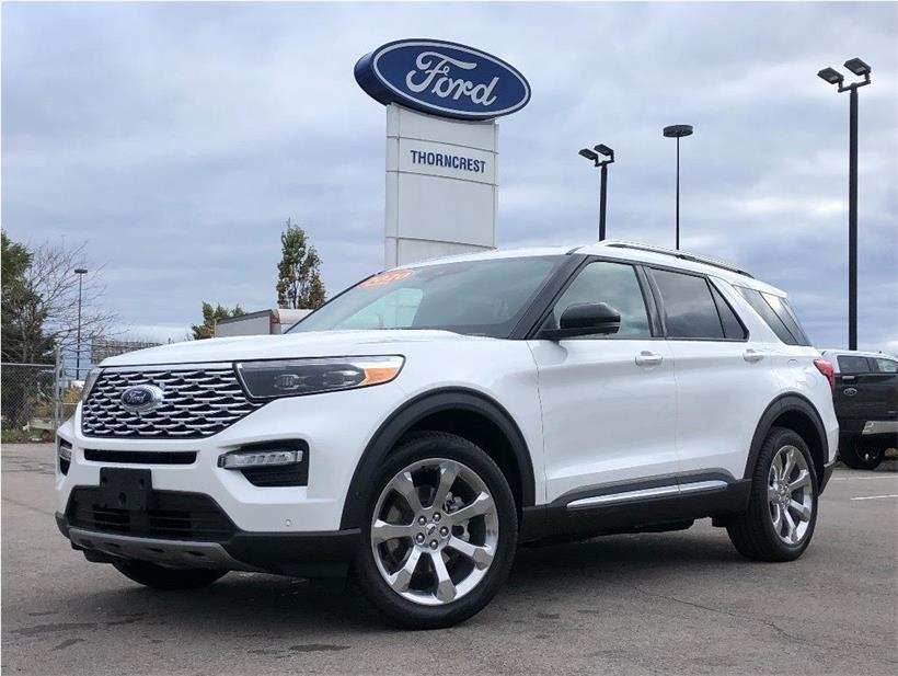 New 2020 Ford Explorer Platinum Q994