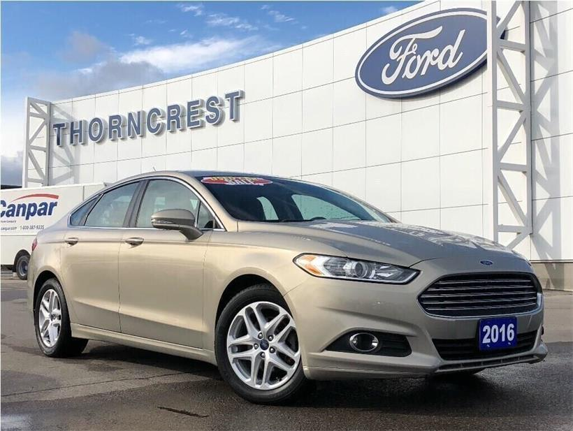 Used 2016 Ford Fusion SE 153620