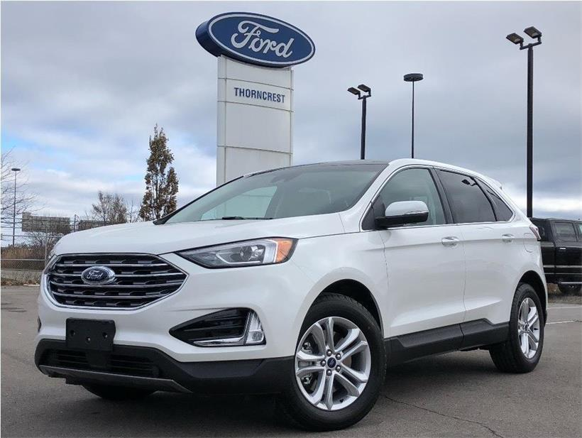 New 2020 Ford Edge SEL W072