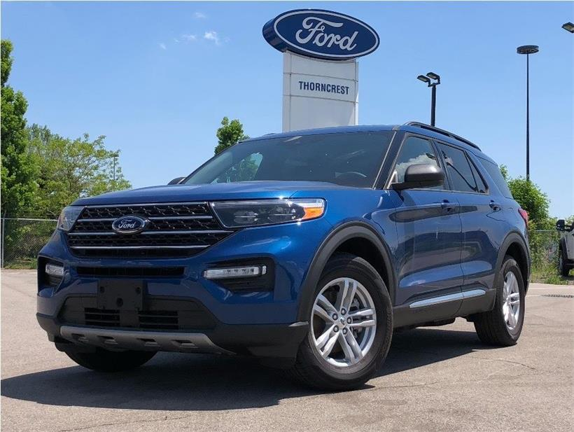 New 2020 Ford Explorer XLT W228