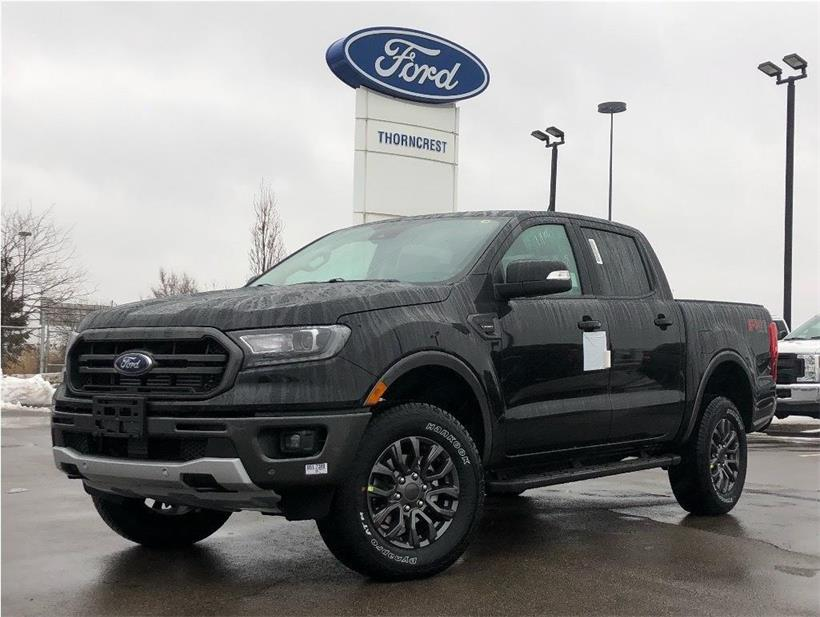 New 2020 Ford Ranger LARIAT W337