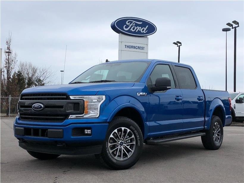 New 2020 Ford F-150 XLT W357
