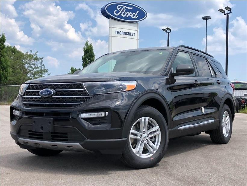 New 2020 Ford Explorer XLT W145