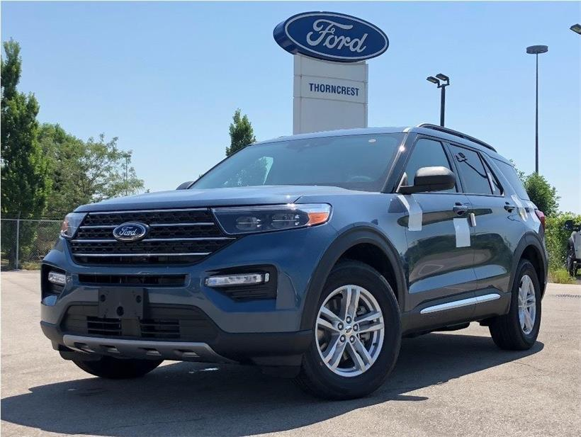 New 2020 Ford Explorer XLT W407
