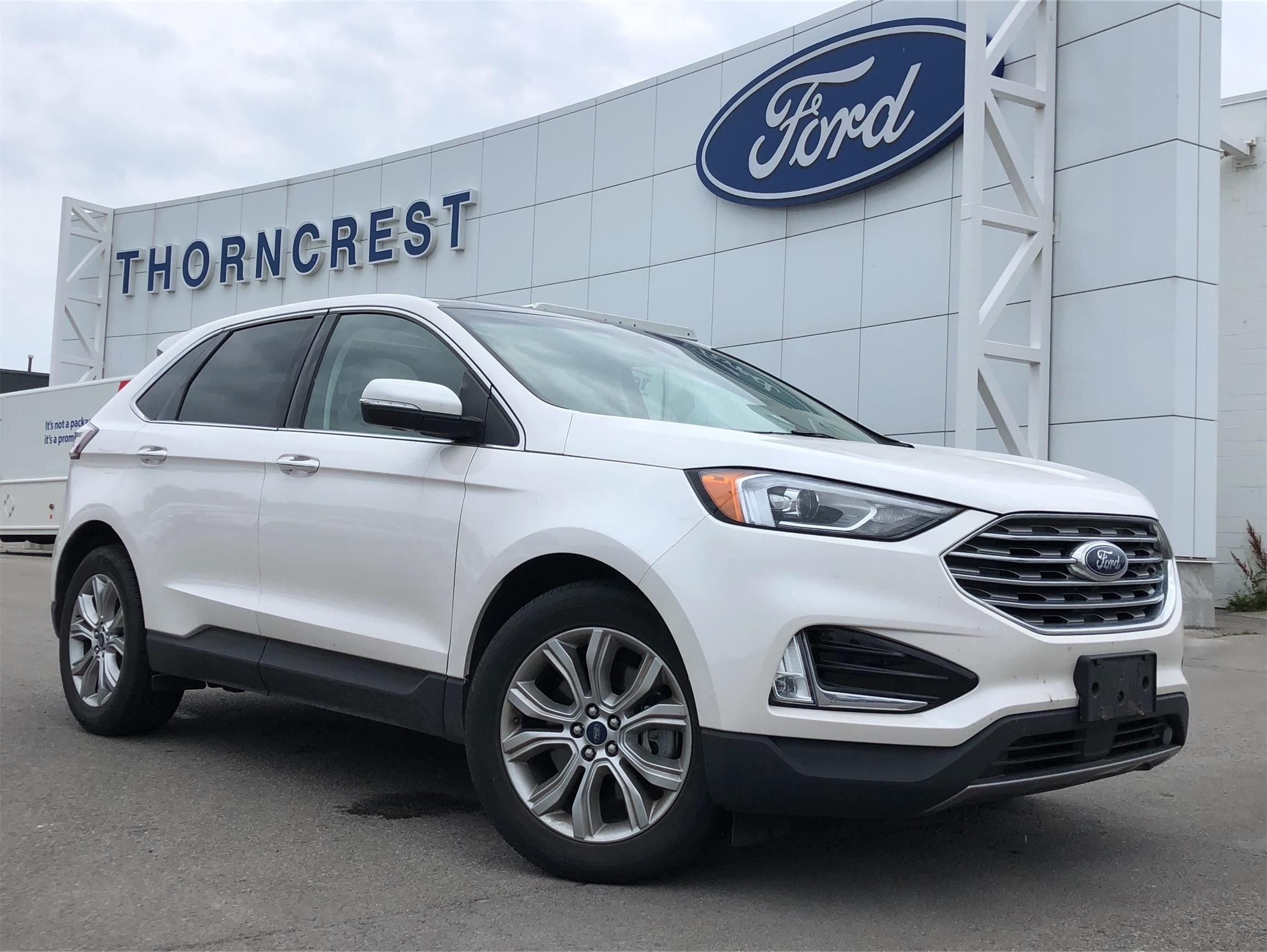 Used 2019 Ford Edge Titanium B37829