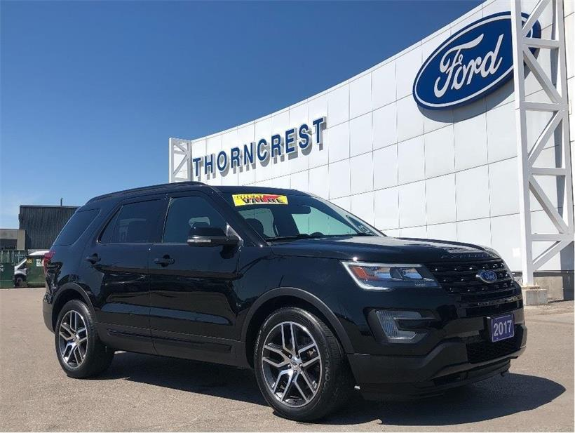 Used 2017 Ford Explorer Sport A28233