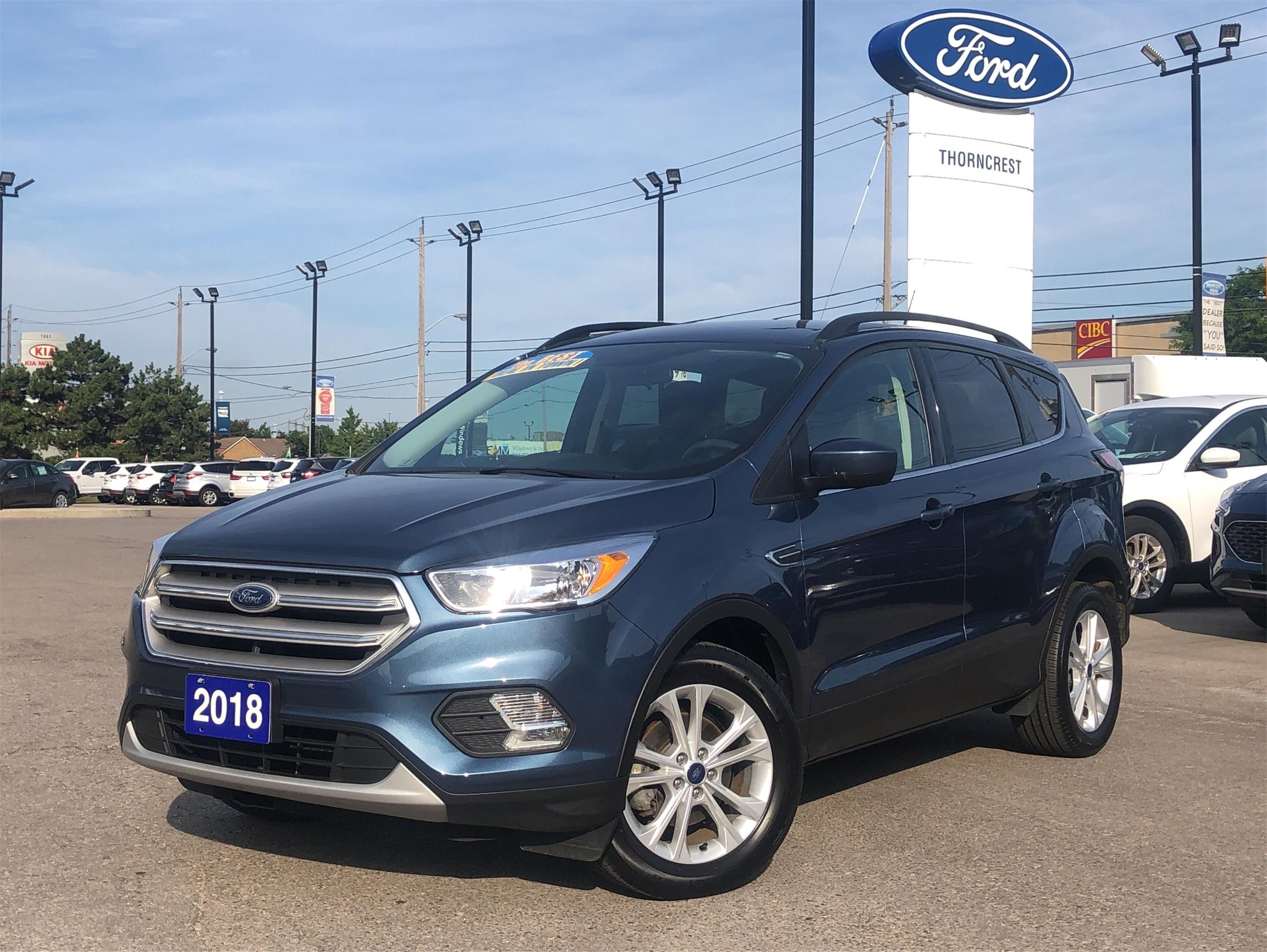 Used 2018 Ford Escape SE B63523