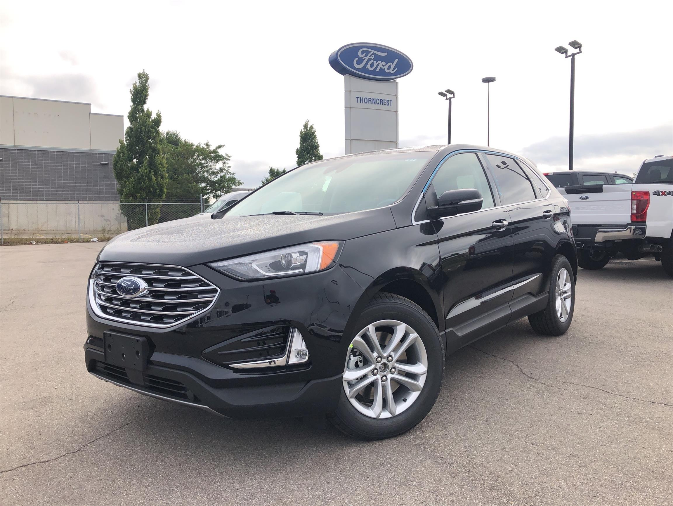 New 2020 Ford Edge SEL W630