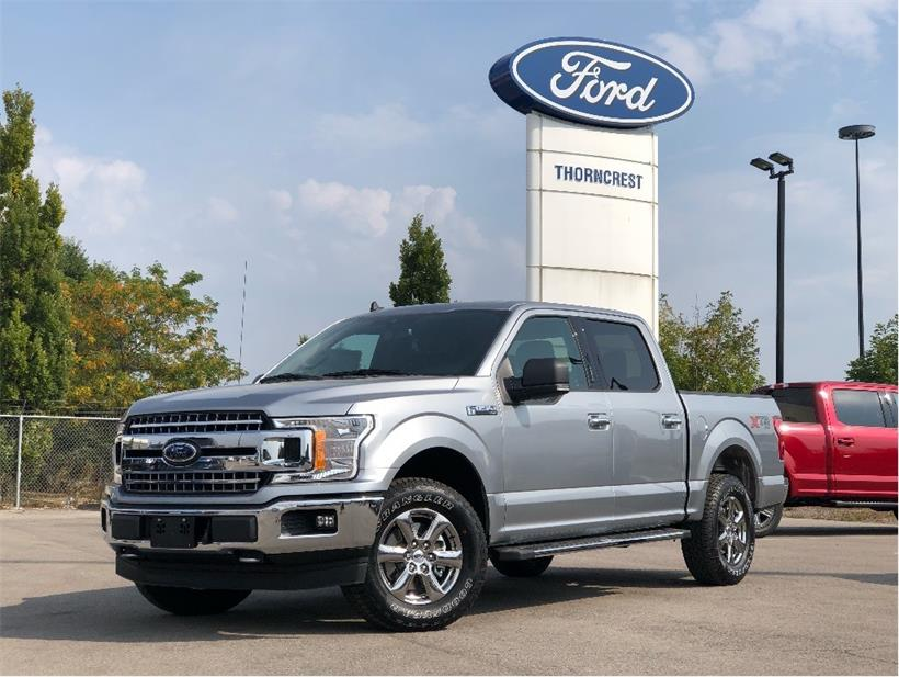 New 2020 Ford F-150 XLT W501