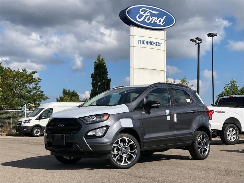 New 2020 Ford EcoSport SES W169