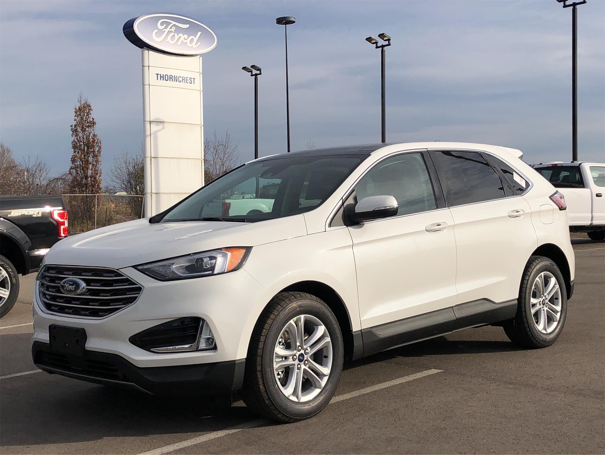New 2020 Ford Edge SEL W698